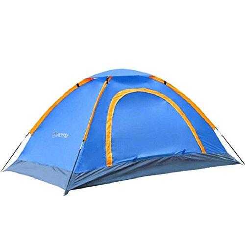 ZC&J Outdoor geeignet für 2 Personen Zelte, Camping Strandzelte, Oxford Tuch wasserdichte Sonnenschutzmittel, tragbare Zelte