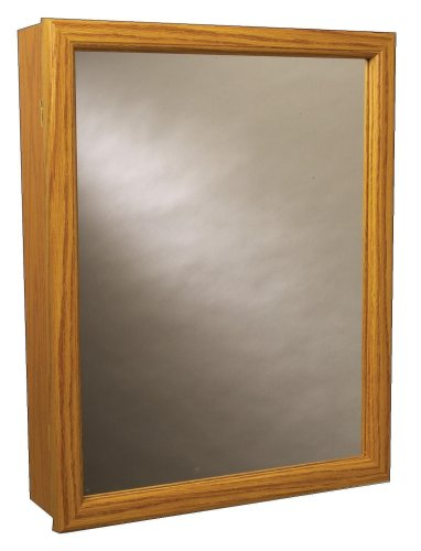 - Zenith K16, Swing Door Medicine Cabinet, Oak