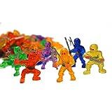 little ninja figures - Fun Express Vinyl Ninja Warrior Toys - 48 Pieces