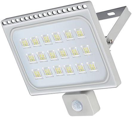 LED Lámpara Plana con Sensor de Movimiento, Foco IP66 Proyector ...