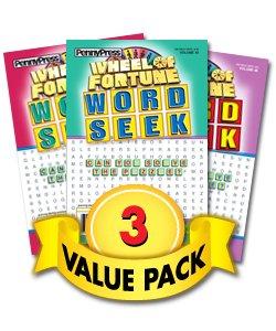 Wheel Fortune Word Seek 3 Pack product image