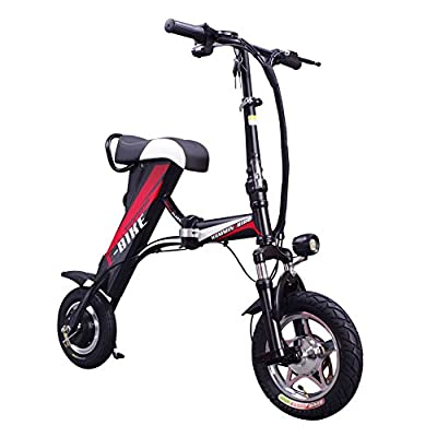 ENGWE Folding Electric Bicycle E-Bike Scooter The Newest Portable Bike With 15-18MPH Speed 15-18Miles Range
