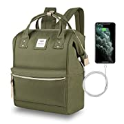 Hethrone Womens Laptop Backpack 15.6 Inch Stylish Anti Theft Casual Travel Computer Rucksack Water Repellent School…