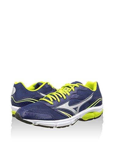 Mizuno , Chaussures de course pour homme, Homme, bleu, 43