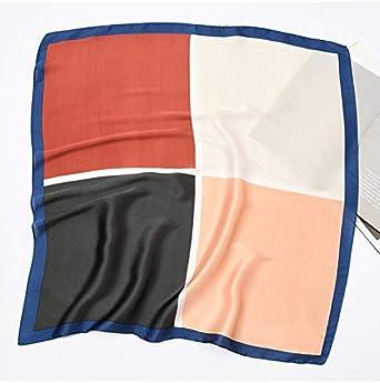 HIDOUYAL Damen Halstuch Bandana 70cmx70cm Kopftuch Quadratischer Patchwork Schal Fr/ühling /& Herbst Schal