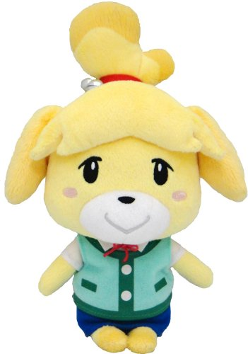 Sanei Animal Crossing New Leaf 8'' Plush Toy: Isabelle/Shizue by Sanei
