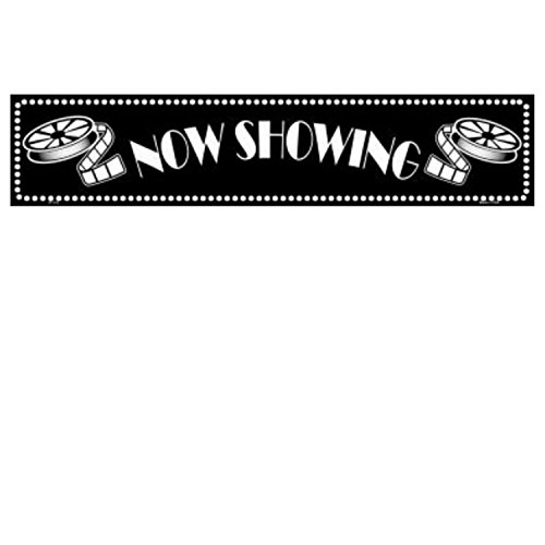 Smart Blonde Now Showing Theater Room Decor for Home Movie Theatre ()