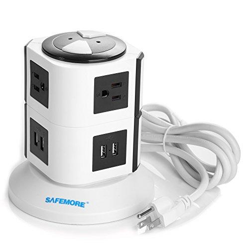 SAFEMORE 6 Outlet Desktop Charging Station