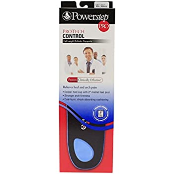 Powerstep Protech Control Pro Insoles (Asm 3-3.5)