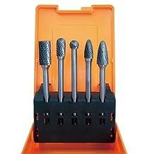 Astro 2185 Long Double Cut Carbide Burr Set, 5-Piece by Astro Pneumatic Tool Company