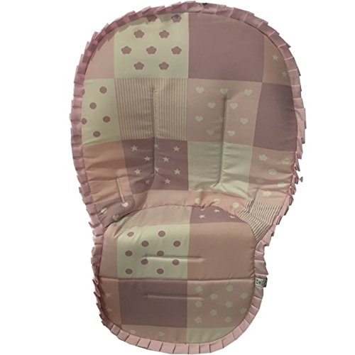 colchoneta bebe silla pach rosa: Amazon.es: Handmade
