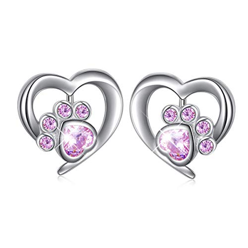 High Polish Flat Heart Earrings - 9