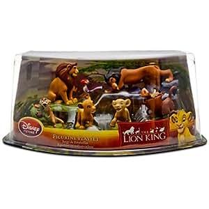 Amazon Com The Lion King Figure Play Set 6 Pc Toys Amp Games