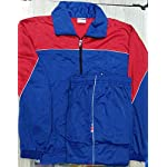 Royal Blue Regular fit Super Poly Tracksuit for Sports