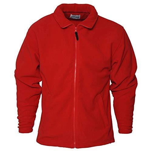 Red Absolute Men's Heritage Zip Fleece Apparel qP1XwT