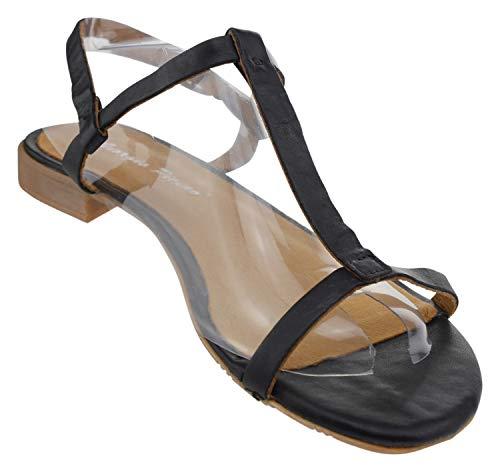 Sandales Giorgio Pour Femme Noir Picino B5qH80