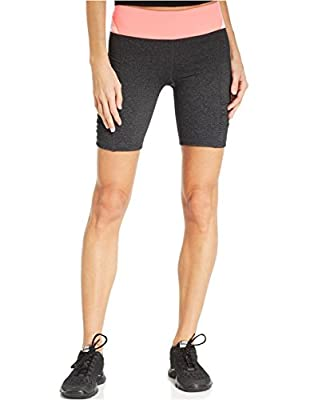 Calvin Klein Performance Women's Colorblocked Active Skinny Shorts