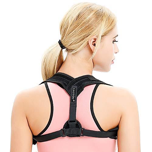 Posture Corrector For Women -2019 NEW Posture Brace -Upper back brace Straightener - Adjustable Comfortable Back Posture Corrector for Men -Relief Neck, Back and Shoulder Pain