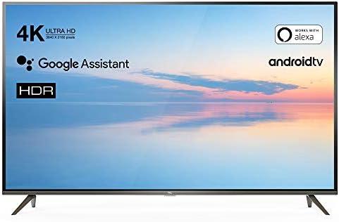 TCL 43EP640 Televisor 108 cm (43 Pulgadas) Smart TV (4K UHD, HDR10, Micro Dimming Pro, Android TV, Alexa, Google Assistant)