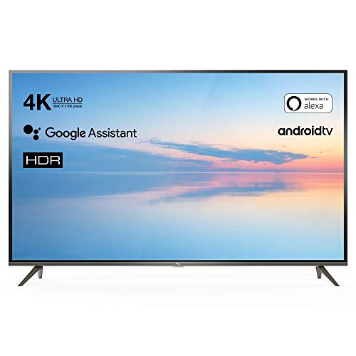 TCL 65EP640 Televisor 165 cm (65 Pulgadas) Smart TV (4K UHD, HDR10, Micro Dimming Pro, Android TV, Alexa, Google Assistant)