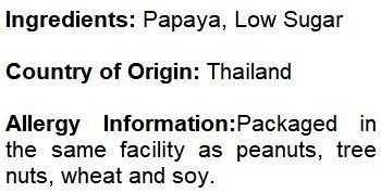 NUTS U.S. - Unsulphured Dried Papaya Spears, Low Sugar, No Color Added (1 LB) by NUTS - U.S. - HEALTH IN EVERY BITE ! (Image #4)