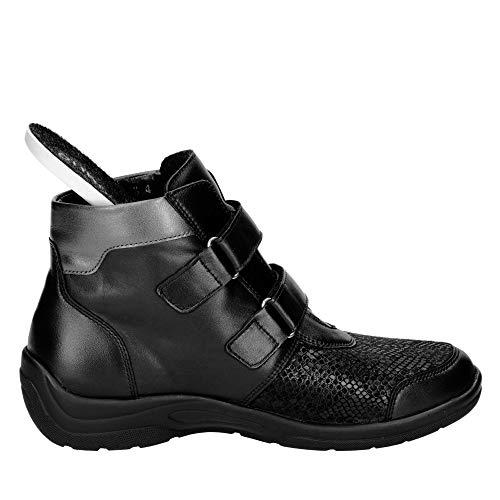 Boots Waldläufer Women Schwarz Asfalto For H Weite awPqxd7w