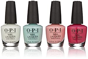 OPI Grease Collection Minis 4 Piece Pack, Nail Lacquer, 0.25 lb.