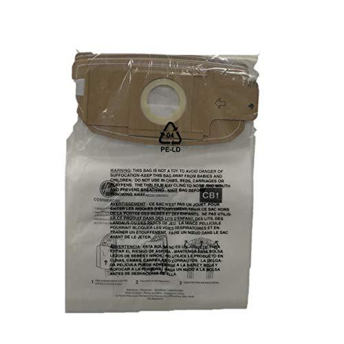 Hoover, Inc AH10173 Paper Bag, CB1 CH34006 Backpack 10 Pk