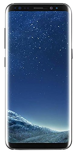 "Samsung Galaxy S8+ 64GB Unlocked Phone - 6.2"" Screen - International Version (Midnight Black)"