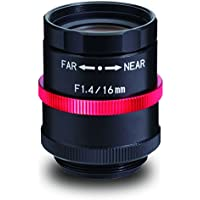 Kowa LM16JCM-V 2/3 16mm F1.4/F4/F8/F16 C-Mount Lens, 2 Megapixel Rated, Ruggedized