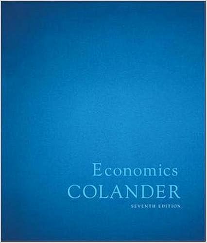 macroeconomics colander 7th edition