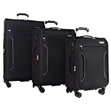 """Antler Cyberlite Il DLX 3-Piece Expandable Spinner Set: 30"""", 27"""", and 21"""""""