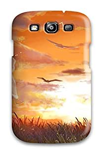 New Diy Design Animal Bird Clouds Cross Dress Grass Hatsune Miku See Through Signed Sky Sunset Twintails Vocaloid Xuehua For Iphone 5/5s Cases Comfortable For Lovers And Friends For Christmas Gifts