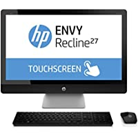 HP ENVY Recline 27-k151 - 27 TouchSmart All-in-One Desktop PC - 8GB DDR3 / 1TB Hybrid Drive / Intel i5 Haswell / Windows 8.1 / Beats Audio / WiFi / Webcam with Wireless Keyboard & Mouse
