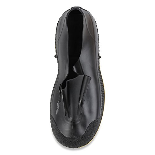 Bagged Overshoes PVC 11003 Mens On 4 Dual Slip Compound Yellow Black SuperFit Servus amp; TO4B7ncSO