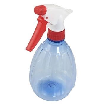 eDealMax plástico jardinería Salon de agua fina niebla de disparo del aerosol Botella 530 ml Azul