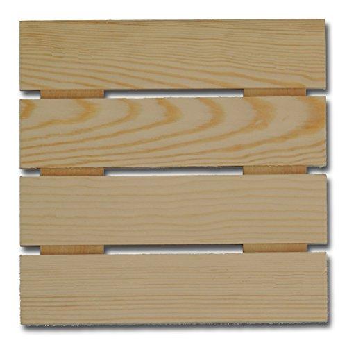 Maya Road PAL3317 Mini Wood Pallet 6x6 -