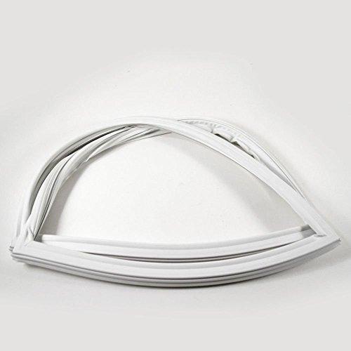 Refrigerator White Door Gasket (WHIRLPOOL CORP W10443321 Refrigerator Freezer Door Gasket (White))