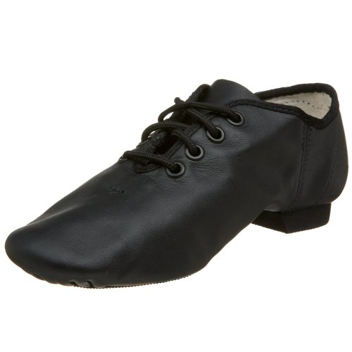 Capezio Little KidBig Kid E Series EJ1C Jazz OxfordBlack10.5 M US Little Kid