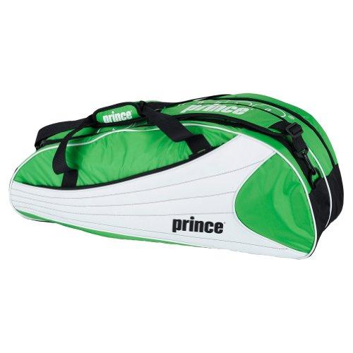 Prince Victory 6 Pack Tennis Bag-Black/Green
