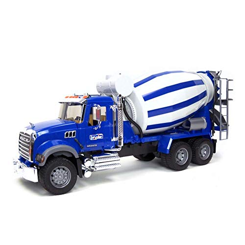 - Bruder Mack Granite Cement Mixer
