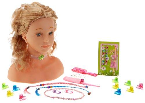 Theo Klein 5213 Princess Coralie Frisierkopf 33 Cm Amazonde