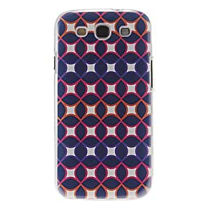 Patrón policromada cubierta del estuche duro de protección de plástico para el Samsung Galaxy S3 I9300