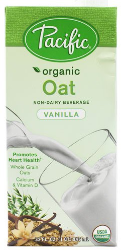 Pacific Natural Foods Organic Oat Non-Dairy Beverage Vanilla -- 32 fl oz - 2 pc