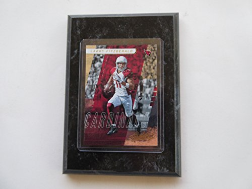 Absolute Black Marble - LARRY FITZGERALD ARIZONA CARDINALS 2017 ABSOLUTE PLAYER CARD MOUNTED ON A