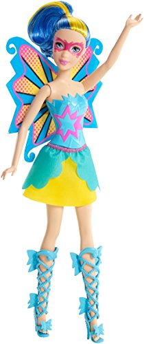 [Barbie in Princess Power Butterfly Doll Blue] (Barbie Pop Princess Costume)