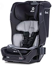 Diono 2020 Radian 3QX Latch, All-in-One Convertible Car Seat, Black Jet