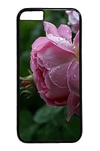 Rose Cake Dessert Custom iphone 6 plus 5.5inch Case Cover Polycarbonate black