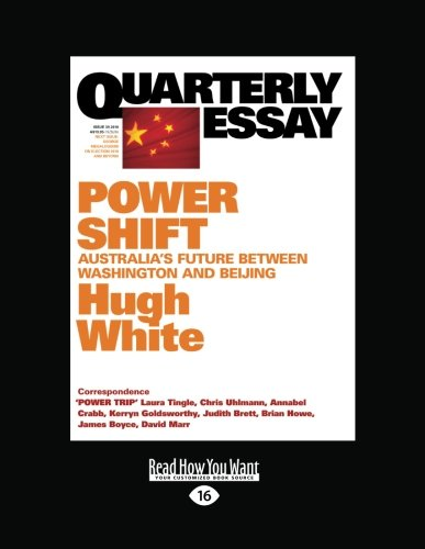 quarterly essay issue 26 Past by inga clendinnen, quarterly essay, issue 23, 2006, 115pp, $1495 the well produced quarterly essay by now hardly needs an quarterly essay 23 the history.