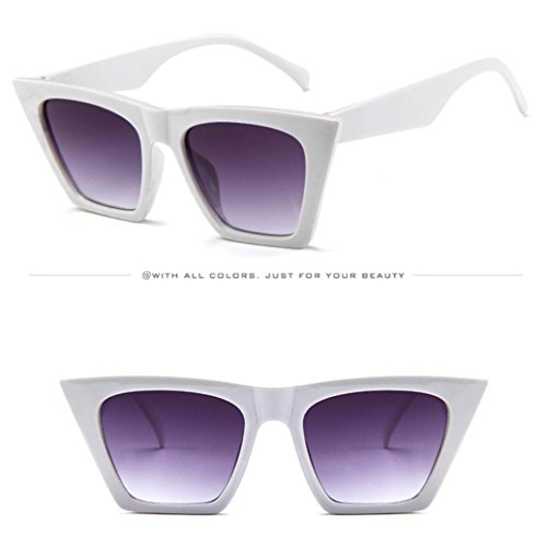 avec à AMUSTER de F 100 polarisées Monture lentille Lunettes Protection Multicolore Soleil Wayfarer Rétro polarisée pour Brillante wrt7qr5C